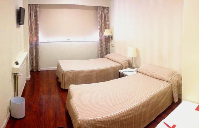 habitacion doble hotel escuela